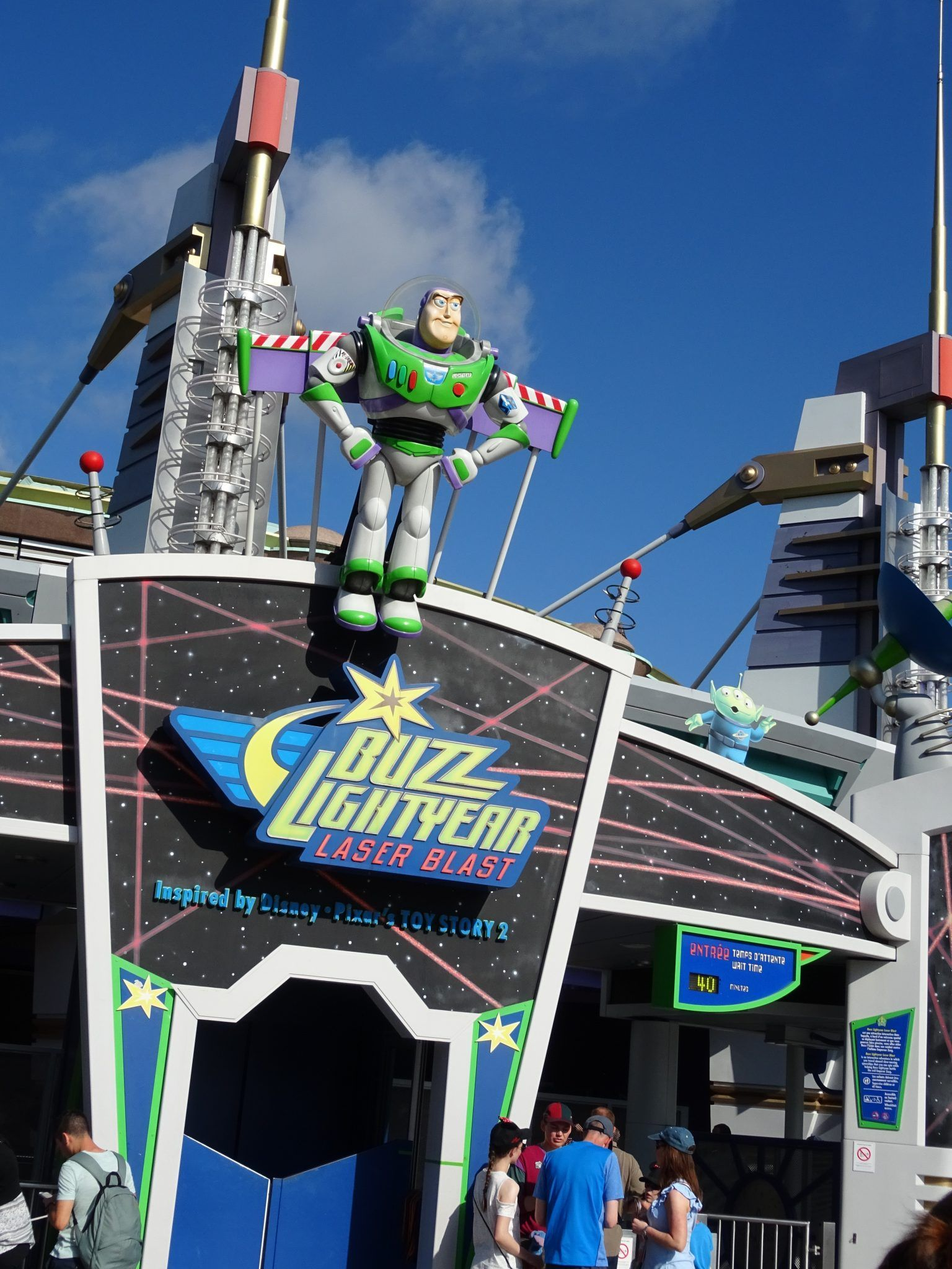 Buzz Light Year Discoveryland